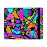 Abstract Sketch Art Squiggly Loops Multicolored Samsung Galaxy Tab Pro 8.4  Flip Case Front