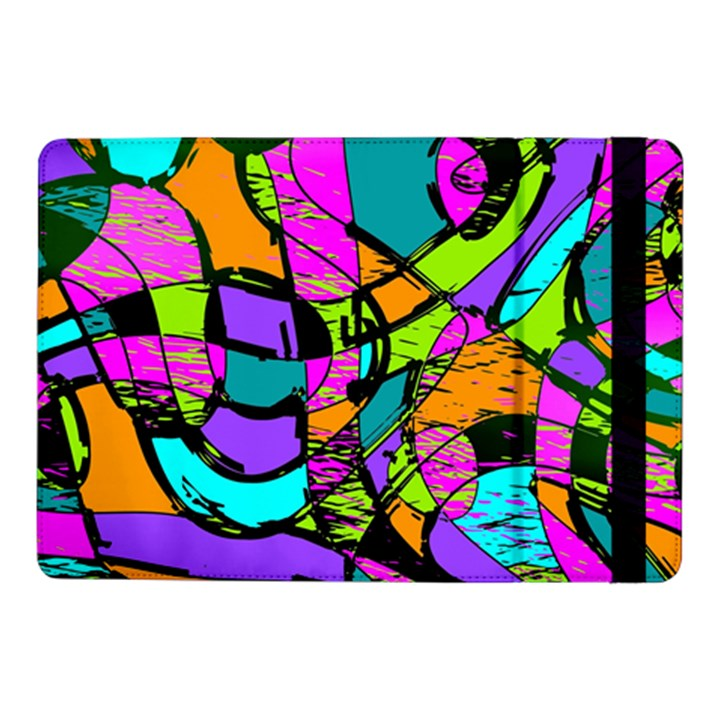 Abstract Sketch Art Squiggly Loops Multicolored Samsung Galaxy Tab Pro 10.1  Flip Case