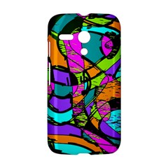 Abstract Sketch Art Squiggly Loops Multicolored Motorola Moto G