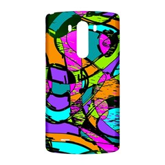 Abstract Sketch Art Squiggly Loops Multicolored LG G3 Back Case