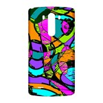 Abstract Sketch Art Squiggly Loops Multicolored LG G3 Back Case Front