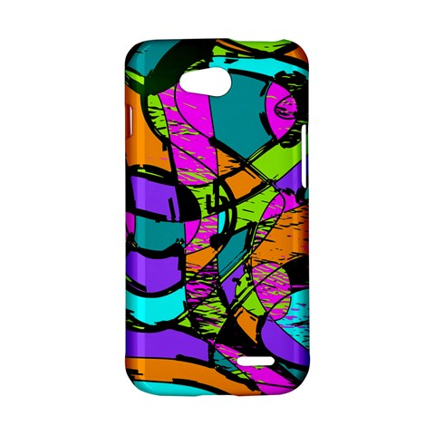 Abstract Sketch Art Squiggly Loops Multicolored LG L90 D410