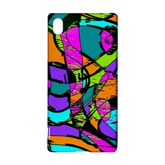 Abstract Sketch Art Squiggly Loops Multicolored Sony Xperia Z3+