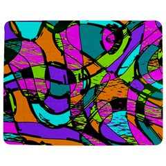 Abstract Sketch Art Squiggly Loops Multicolored Jigsaw Puzzle Photo Stand (rectangular)