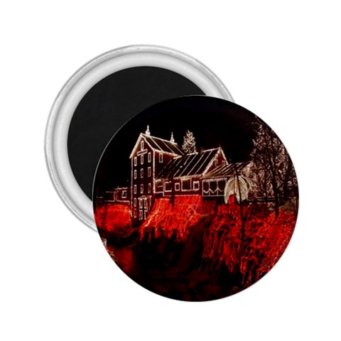 Clifton Mill Christmas Lights 2.25  Magnets