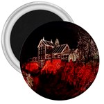 Clifton Mill Christmas Lights 3  Magnets Front