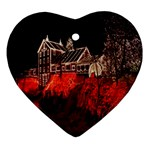 Clifton Mill Christmas Lights Ornament (Heart)  Front