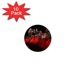 Clifton Mill Christmas Lights 1  Mini Magnet (10 pack)
