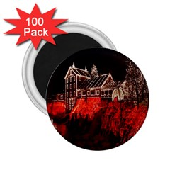 Clifton Mill Christmas Lights 2.25  Magnets (100 pack)
