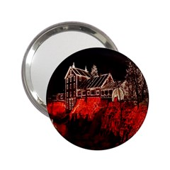 Clifton Mill Christmas Lights 2.25  Handbag Mirrors