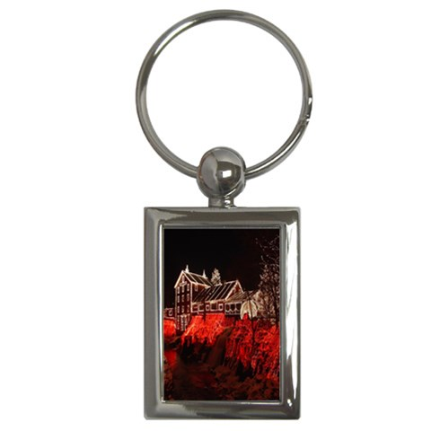 Clifton Mill Christmas Lights Key Chains (Rectangle)