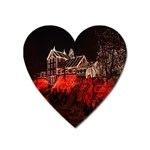 Clifton Mill Christmas Lights Heart Magnet Front