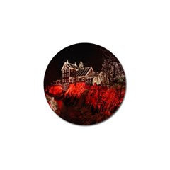 Clifton Mill Christmas Lights Golf Ball Marker (4 pack)