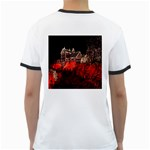 Clifton Mill Christmas Lights Ringer T-Shirts Back