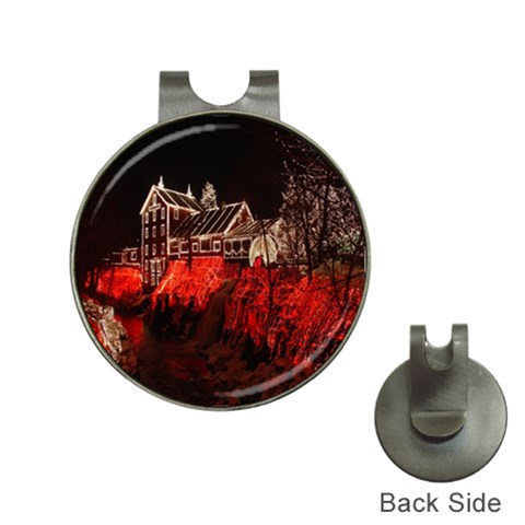 Clifton Mill Christmas Lights Hat Clips with Golf Markers