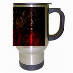 Clifton Mill Christmas Lights Travel Mug (Silver Gray) Right