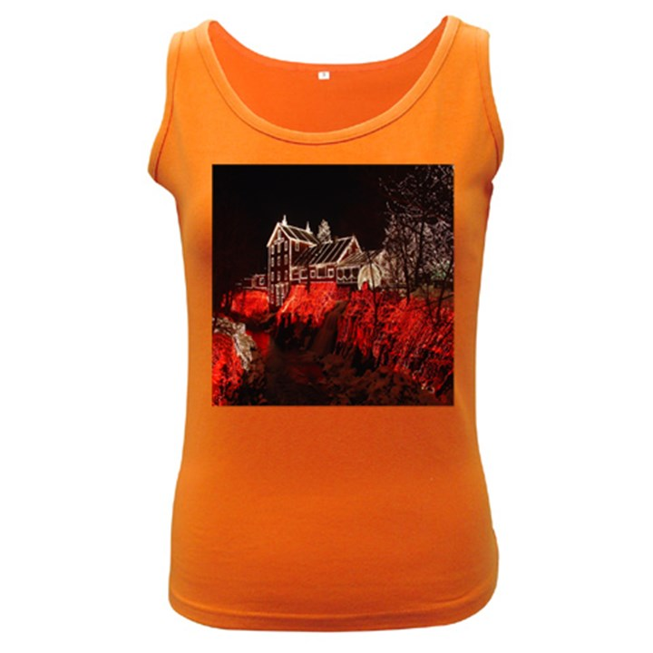 Clifton Mill Christmas Lights Women s Dark Tank Top