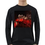 Clifton Mill Christmas Lights Long Sleeve Dark T-Shirts Front
