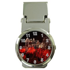 Clifton Mill Christmas Lights Money Clip Watches