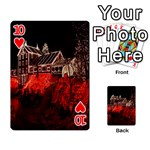 Clifton Mill Christmas Lights Playing Cards 54 Designs  Front - Heart10