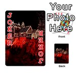 Clifton Mill Christmas Lights Playing Cards 54 Designs  Front - Joker2