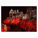 Clifton Mill Christmas Lights Collage Prints 18 x12 Print - 2