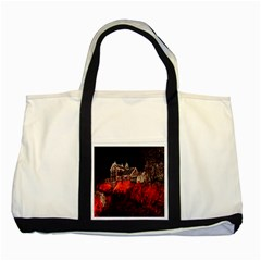 Clifton Mill Christmas Lights Two Tone Tote Bag
