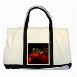 Clifton Mill Christmas Lights Two Tone Tote Bag Front