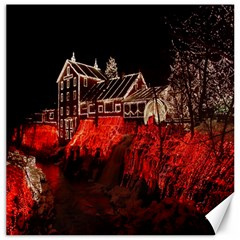 Clifton Mill Christmas Lights Canvas 16  x 16