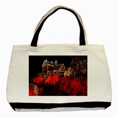 Clifton Mill Christmas Lights Basic Tote Bag (Two Sides)