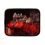 Clifton Mill Christmas Lights Netbook Case (Small)  Front