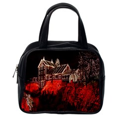 Clifton Mill Christmas Lights Classic Handbags (One Side)
