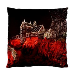 Clifton Mill Christmas Lights Standard Cushion Case (One Side)