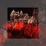 Clifton Mill Christmas Lights Mini Canvas 4  x 4  4  x 4  x 0.875  Stretched Canvas