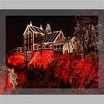 Clifton Mill Christmas Lights Canvas 14  x 11  14  x 11  x 0.875  Stretched Canvas