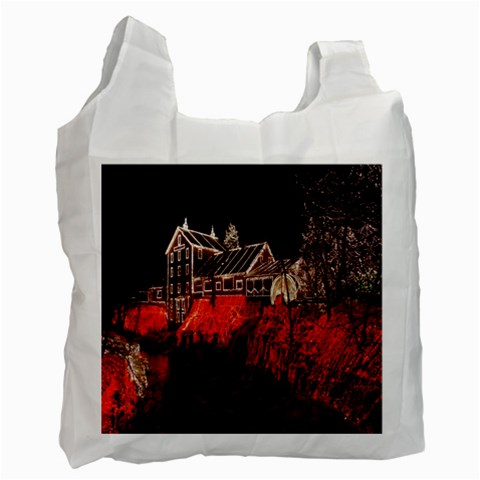 Clifton Mill Christmas Lights Recycle Bag (One Side)