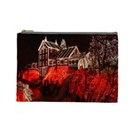 Clifton Mill Christmas Lights Cosmetic Bag (Large)  Front