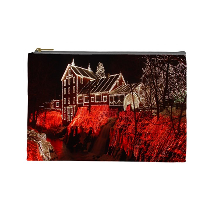 Clifton Mill Christmas Lights Cosmetic Bag (Large)