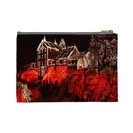 Clifton Mill Christmas Lights Cosmetic Bag (Large)  Back