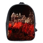 Clifton Mill Christmas Lights School Bags(Large)  Front