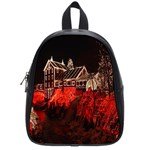 Clifton Mill Christmas Lights School Bags (Small)  Front