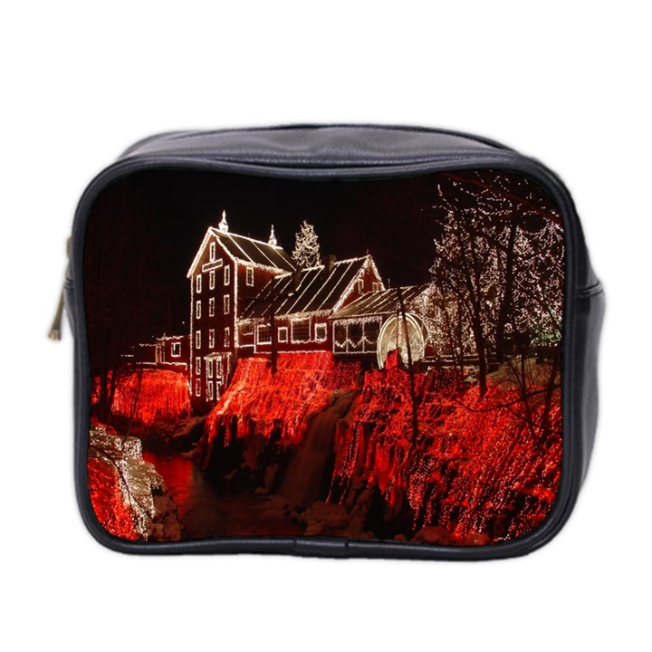 Clifton Mill Christmas Lights Mini Toiletries Bag 2-Side