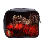 Clifton Mill Christmas Lights Mini Toiletries Bag 2-Side Back