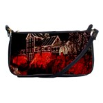 Clifton Mill Christmas Lights Shoulder Clutch Bags Front