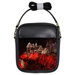 Clifton Mill Christmas Lights Girls Sling Bags Front