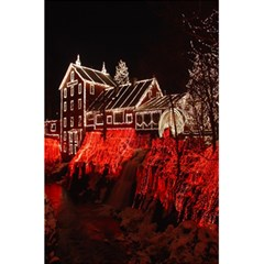 Clifton Mill Christmas Lights 5.5  x 8.5  Notebooks