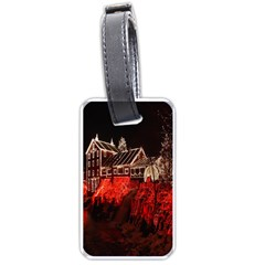 Clifton Mill Christmas Lights Luggage Tags (One Side)