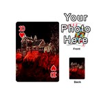 Clifton Mill Christmas Lights Playing Cards 54 (Mini)  Front - Heart10