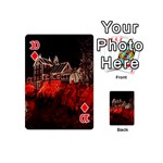 Clifton Mill Christmas Lights Playing Cards 54 (Mini)  Front - Diamond10