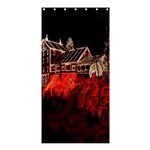 Clifton Mill Christmas Lights Shower Curtain 36  x 72  (Stall)  33.26 x66.24 Curtain